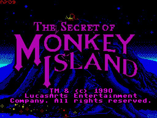 Secret Of Monkey Island (Title) - 3 (FINAL)
