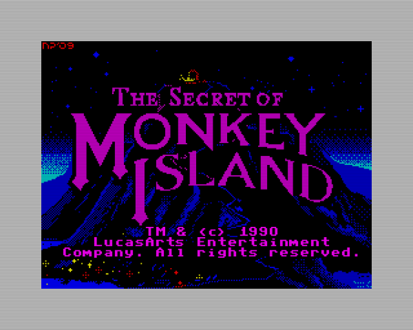 Secret Of Monkey Island (Title)