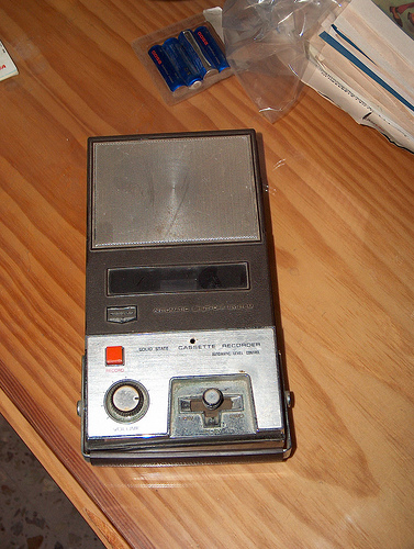 grabadora cassette