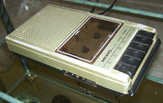 MARS KK-4000 Cassette Recorder