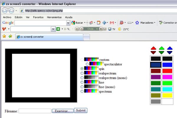 ZX Screen$ converter