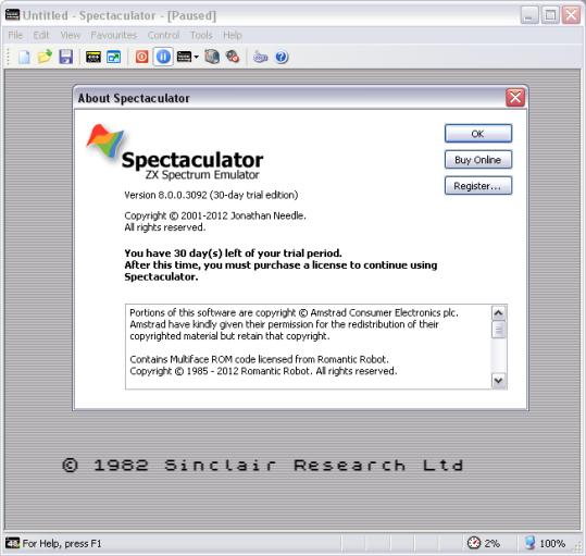 Spectaculator80