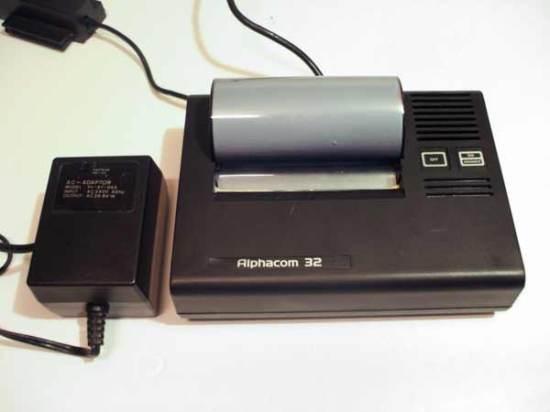 Alphacom 32