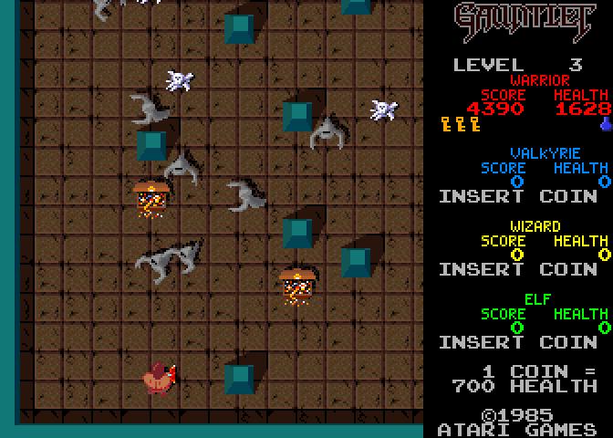 Old Spectrum Games Build And Battle Droids