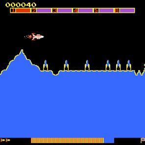 Scramble (Atari 7800)